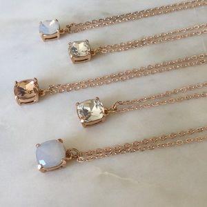 Rose Gold Crystal Pendants Boutique